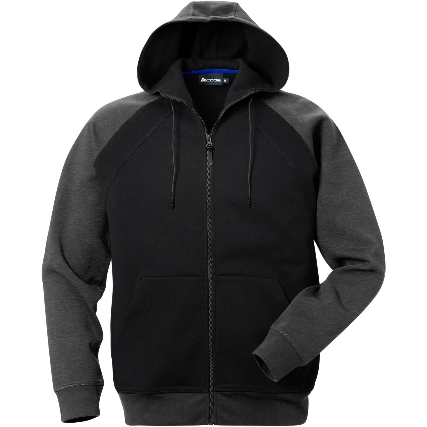 Acode sweatshirt jacka med huva 1757 DF