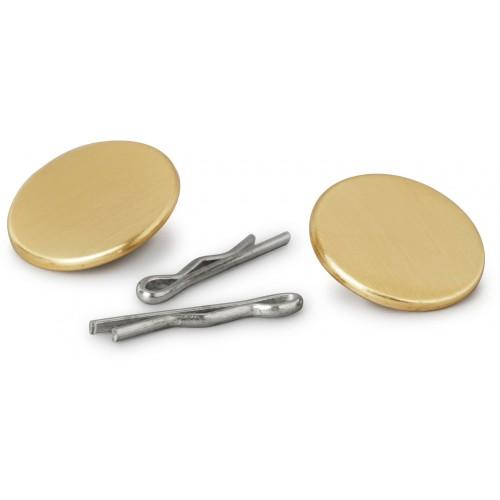 Metallknappar med klips