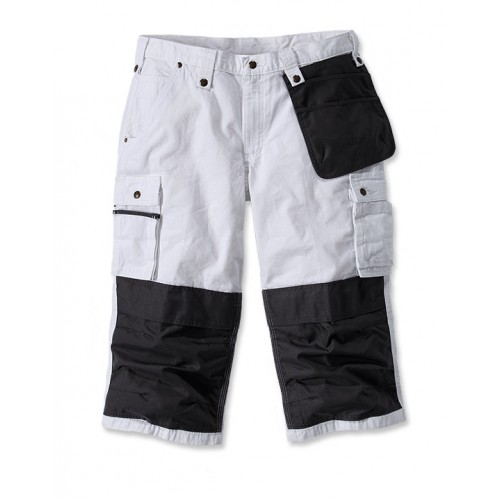 Multi Pocket Ripstop Pirate Pant
