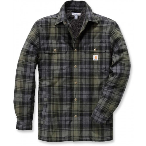 Hubbard Sherpa Lined Shirt Jacket