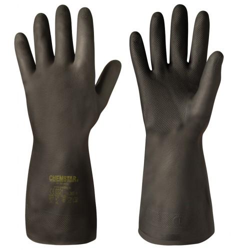 Kemikalieresistenta handskar i neopren Chemstar®, 6 par