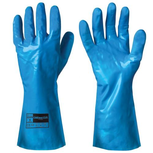 Kemikalieresistenta handskar i nitril Chemstar® 12 par