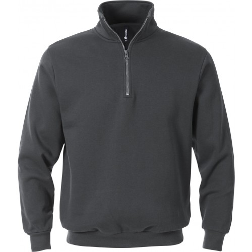 Acode sweatshirt med kort dragkedja 1737 SWB