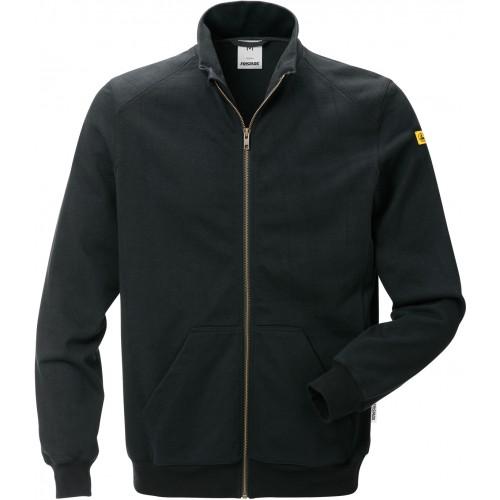 ESD Sweatshirt-jacka 4080 XSM