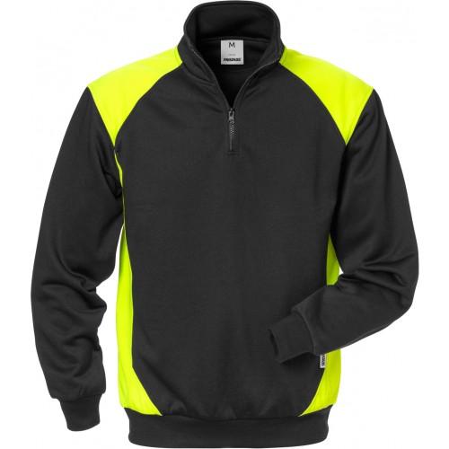 Sweatshirt med kort dragkedja 7048 SHV
