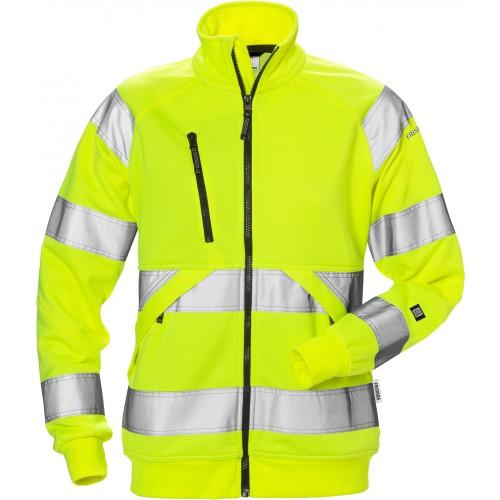Varsel sweatshirt-jacka 7427 SHV kl 3, dam