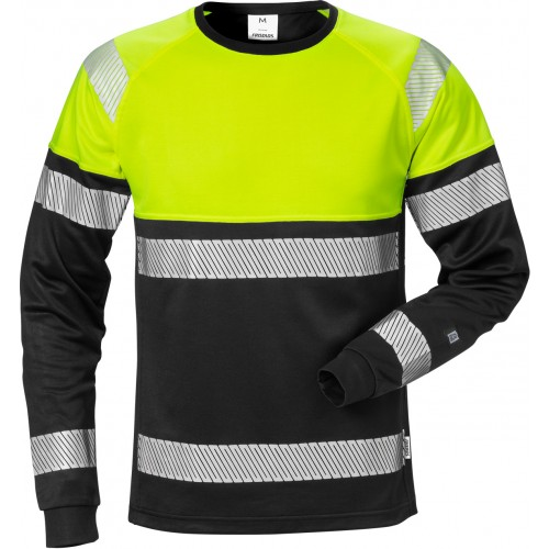 Varsel långärmad T-shirt 7519 THV, klass 1