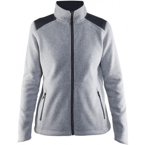Noble Zip Jacket Heavy Knit Fleece W