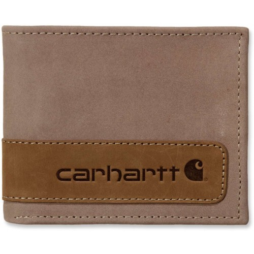 Two Tone Billfold With Wing Wallet