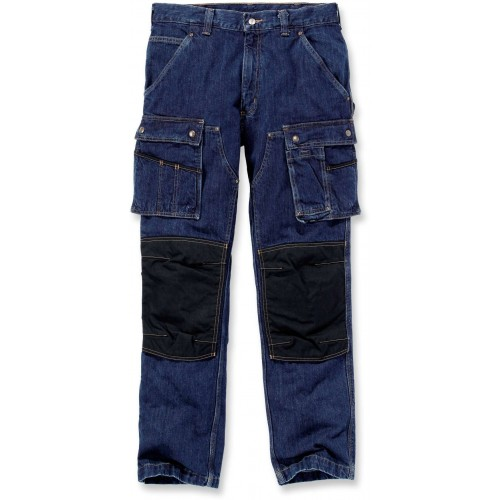 Denim Multi Pocket Tech Pant