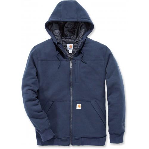 Rockland Quilt-lined Full-zip Hooded Sweatshirt
